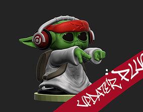 3D printable model Dj Yoda - baby Yoda-15 Cm-7 Pieces -