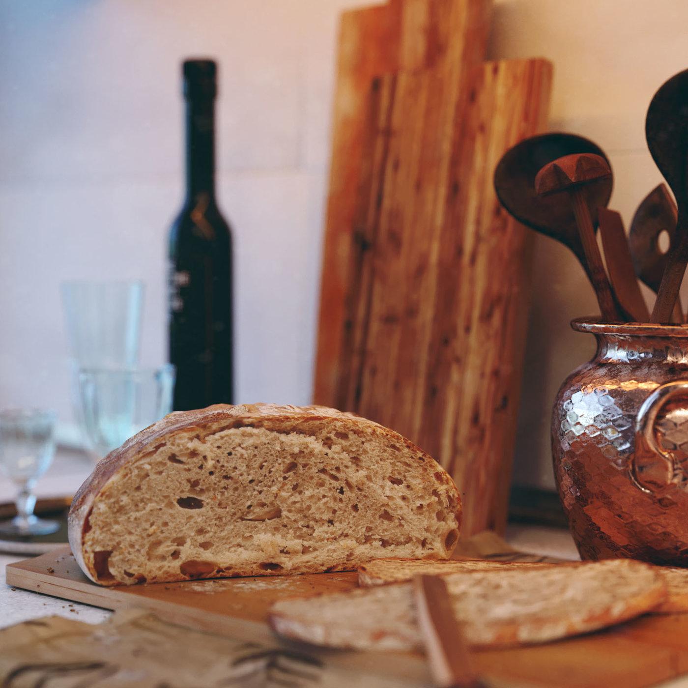 intimate kitchen