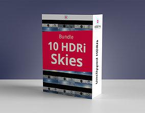 10 Hdri Skies Bundle 3D model
