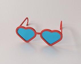 Fashion Eyeglasses v2 3D model