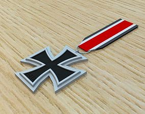 Iron Cross 3D asset