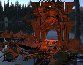 3D model Arch Demon Gate