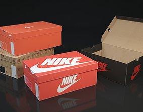 shoebox Shoe box Nike 3d