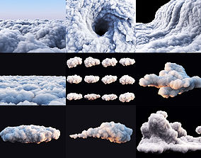 earth Clouds Pack 3Ds Max
