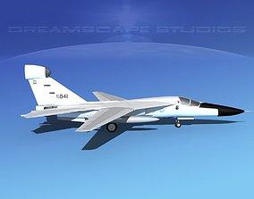3D General Dynamics EF-111 Raven V03 USAF