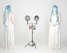 Corpse Bride cosplay 97 3D model