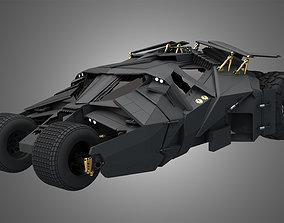 Batmobile Car for Batman -The Dark Knight Rises 3D model