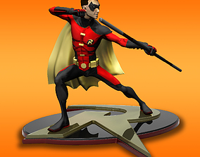 Robin Tim Drake model for 3d Print