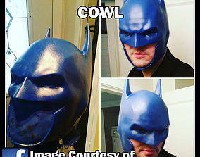 3D Printable Clip Together Batman Cowl