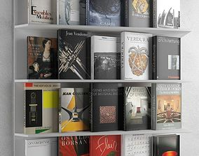 Books Set 14 3D