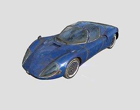 Alfa romeo stradale 1967 3D model PBR