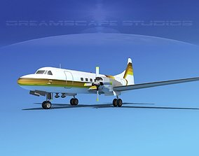 Convair CV-580 Aero California 3D