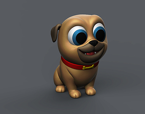 Puppy Pug 3D printable model