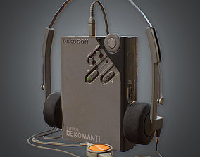 3D model 80s - Portable Tape Player