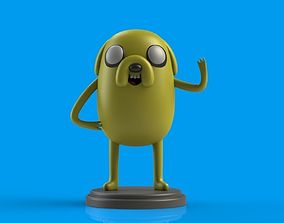 Jake the Dog 3D print model