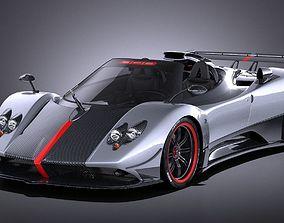 Pagani Zonda Cinque Roadster 2011 VRAY 3D model