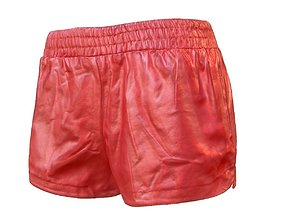 3D model Red Leather Short