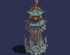3D smithy Gang - defense tower 02