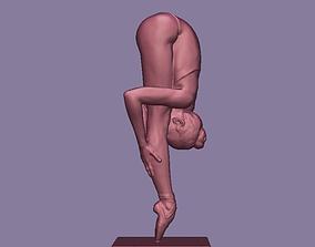 3D print model Difficult Ballet Pose