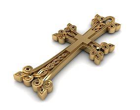 belief Armenian Cross Khachkar 3d model for print