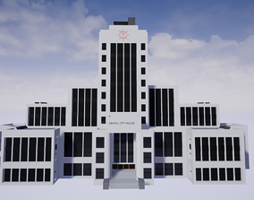 3D asset Central City Police Department CCPD from The