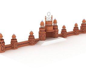 hotel 3D model Castle intro