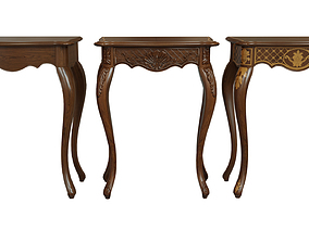 Classic side table 600 3D asset realtime