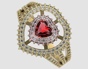 3D printable model Heart Design Ring