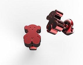 3D printable model jewelry bears
