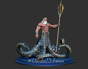 3D printable model hulk Poseidon