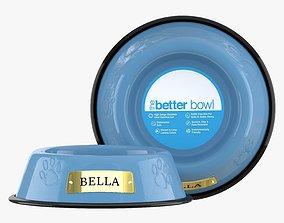 Large Bowl Sky Blue 3D