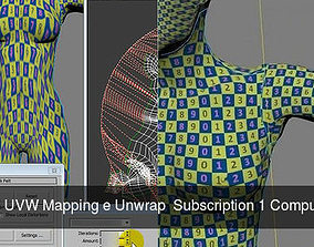 3ds max 2015 UVW Mapping e Unwrap Subscription 1 1
