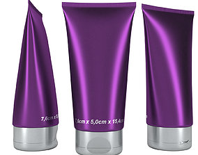 tube container 3D skincare