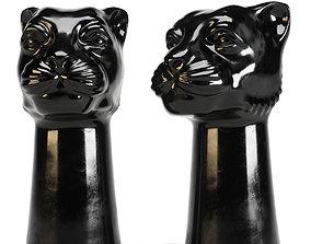 Ceramic Vase Panther Hm Home 3D