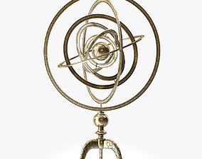 3D model Arteriors Copernicus Armillary