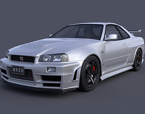 Nissan Skyline GTR R34 Nismo Z-Tune Limited Edition 3D
