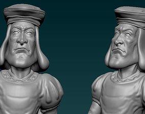 Lord Farquaad 3D Model