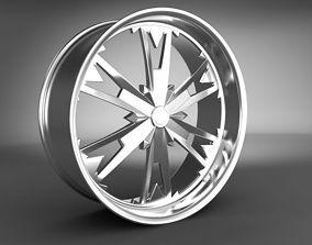 3D model part Wheel Rim