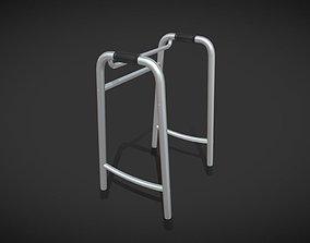 3D model Elderly fracture walking aids
