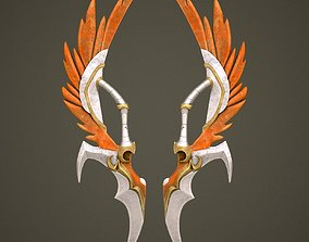 3D Fantasy sword 10 armor