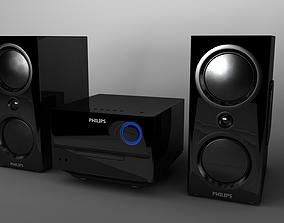3D Philips BTM3160 Hifi-System