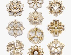 Decorative Wall Rosettes model