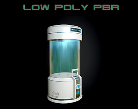 3D model Sci-fi Lab Equipment