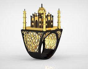 3D printable model The Tajmahal Ring antique