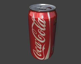 3D model Coke Can first-model-may