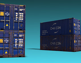 Shipping Container 08 3D model