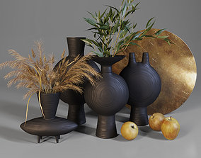 Autumn decor set 05 3D