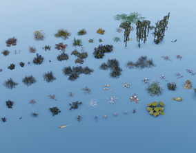 3D asset Vegetation - Pack 2