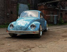 vw beetle 1969 3D model