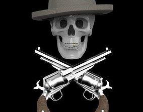 hat skull 3d model